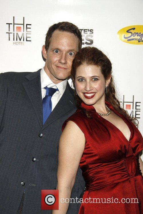 Jimmy Ray Bennett and Rena Strober Opening night...