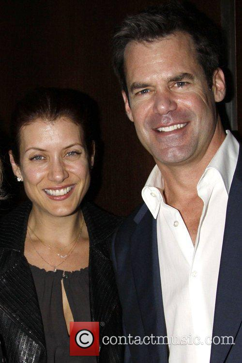 Kate Walsh and Tuc Watkins Opening night after...