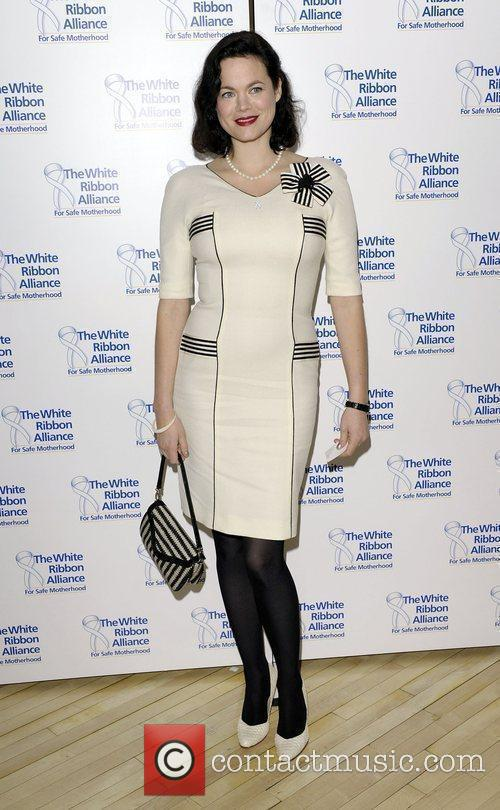 Jasmine Guinness White Ribbon Global Alliance Party Campaign...