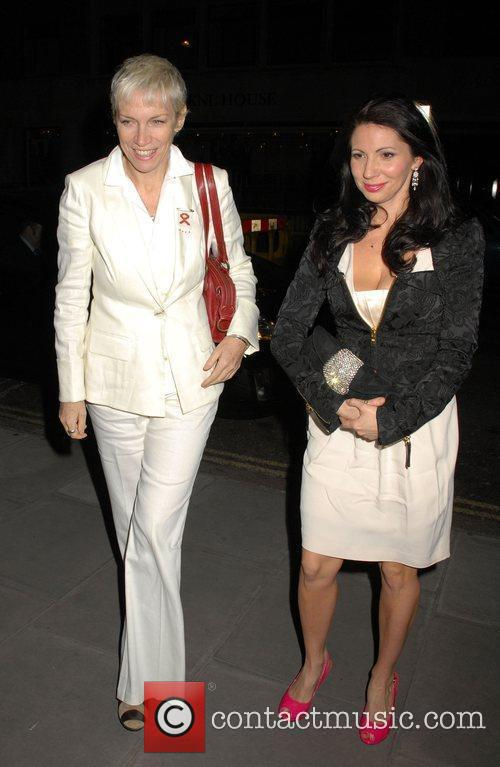 Annie Lennox White Ribbon Global Alliance Party Campaign...