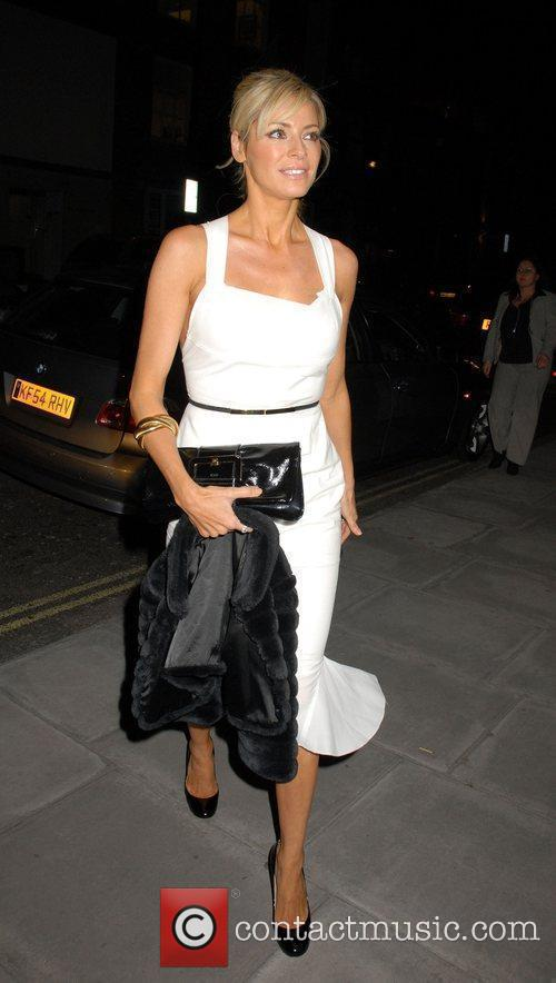 Tess Daly White Ribbon Global Alliance Party Campaign...