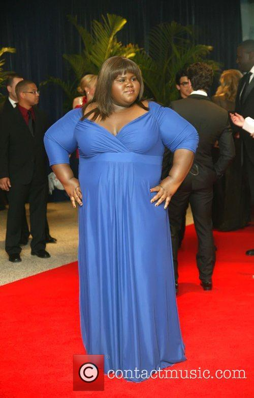 Gabourey Sidibe and White House