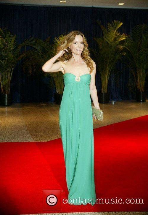 Leslie Mann and White House