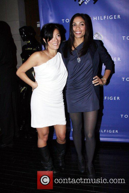 Rosario Dawson and Tommy Hilfiger 1