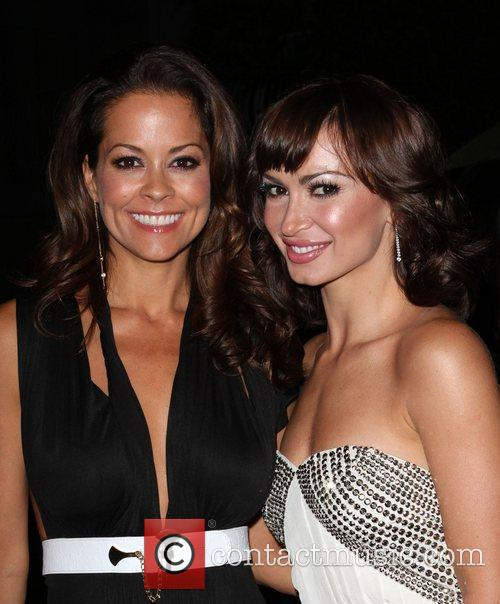 Brooke Burke, Karina Smirnoff, Brooke Burke, Entertainment Weekly and Karina Smirnoff 1