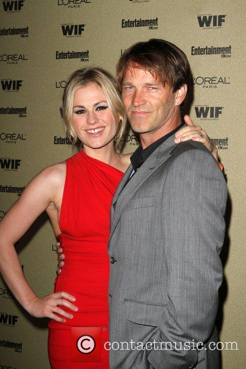 Stephen Moyer And Anna Paquin, Stephen Moyer, Anna Paquin and Entertainment Weekly 3