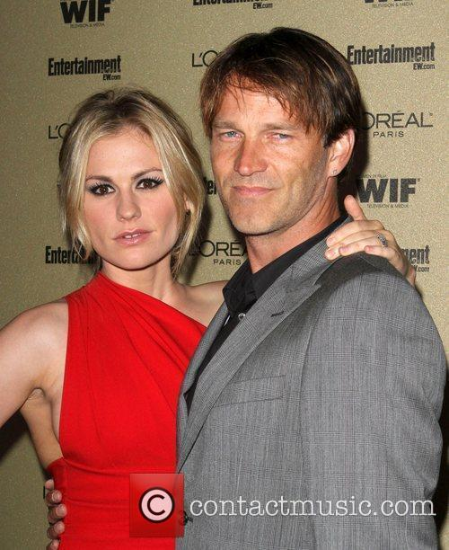 Stephen Moyer And Anna Paquin, Stephen Moyer, Anna Paquin and Entertainment Weekly 5