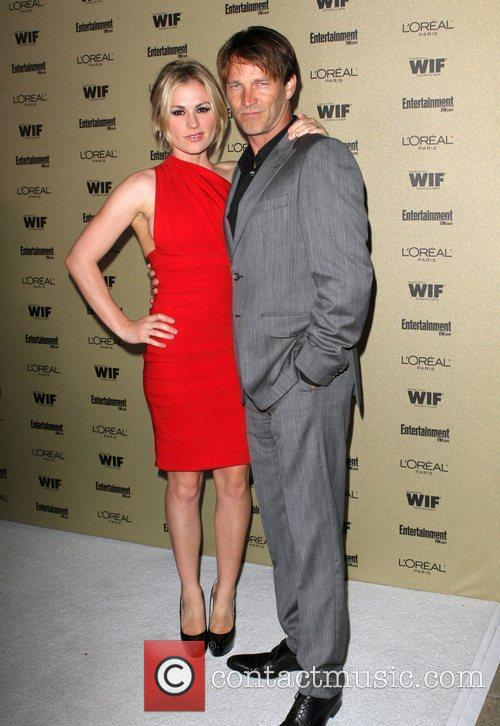 Stephen Moyer And Anna Paquin, Stephen Moyer, Anna Paquin and Entertainment Weekly 1