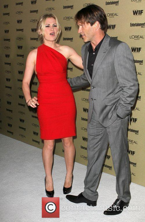 Stephen Moyer And Anna Paquin, Stephen Moyer, Anna Paquin and Entertainment Weekly 4