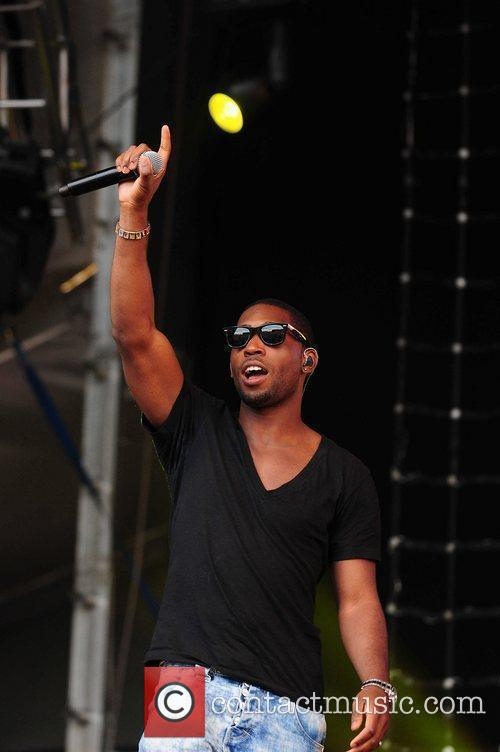 Tinie Tempah performing at Wigan Life Tuned-In Concerts...