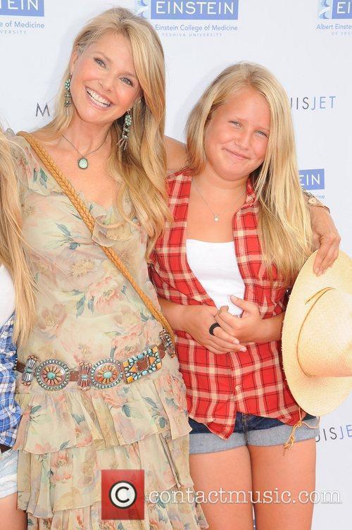 Christie Brinkley and daughter Sailor Brinkley The Einstein...