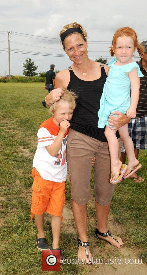 Edie Falco and Family 3