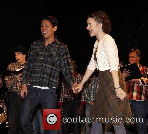 Junior Mendez and Jenn Gambatese Theatrical Gems production...