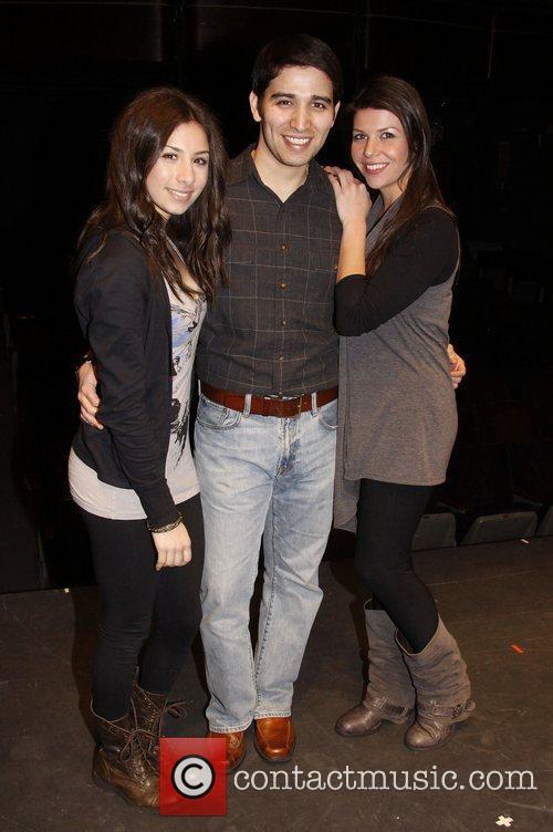 Tara Novie, Tony Ramos and Jillian Schochet Theatrical...