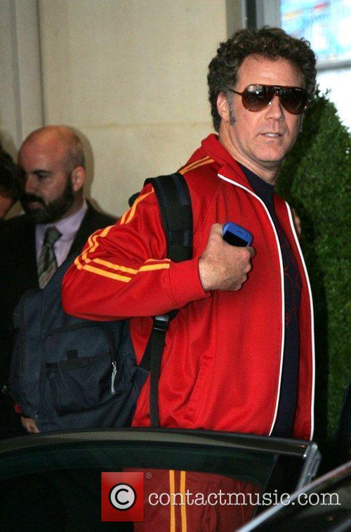 Will Ferrell outside the May Fair hotel London,...
