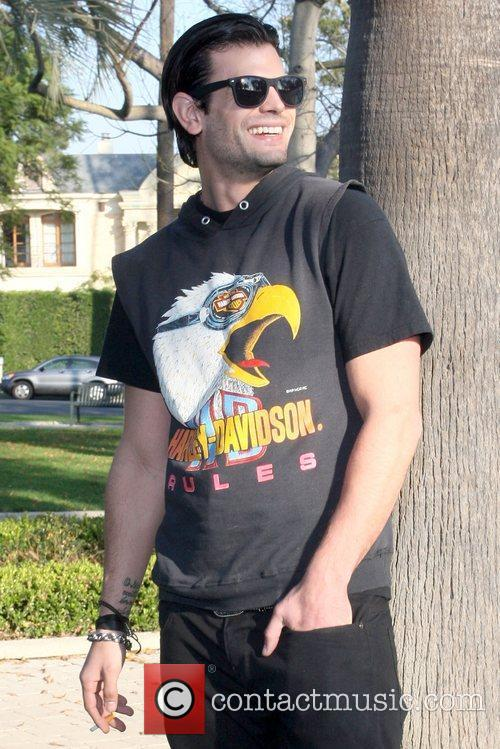 A.J. Lamas Celebrities at Will Rogers Memorial Park...