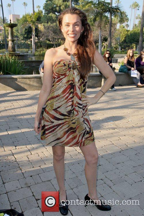 Alicia Arden Celebrities at Will Rogers Memorial Park...