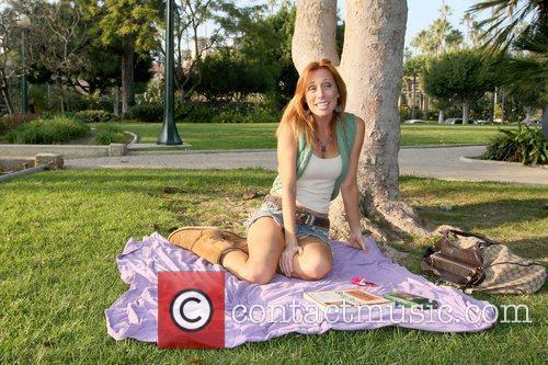 Melissa Hunter Celebrities at Will Rogers Memorial Park...