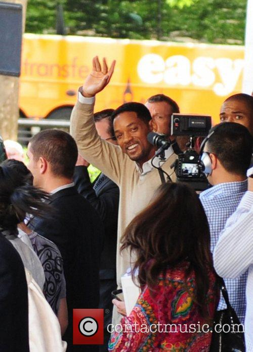 Will Smith leaving The Dorchester hotel in London