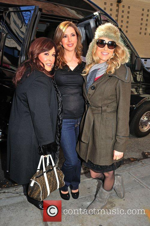 Carnie Wilson, Wendy Wilson, and Chynna Phillips of...