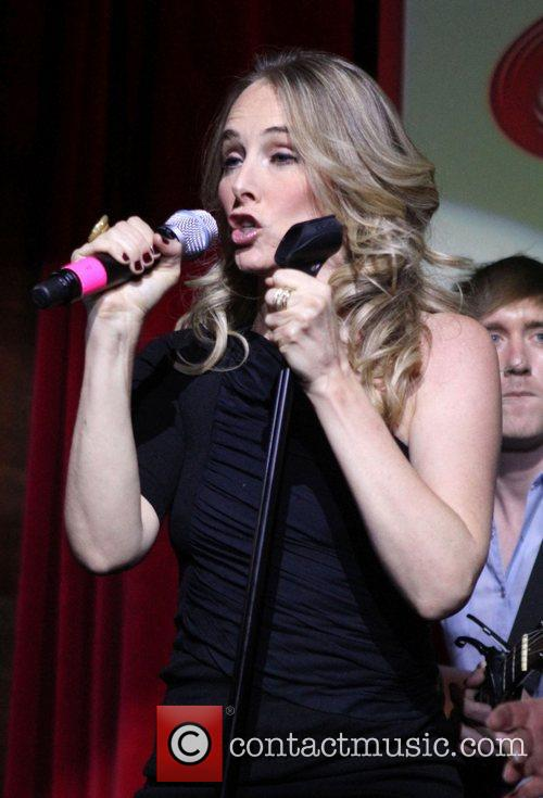 Wilson Phillips perform songs from their new album...