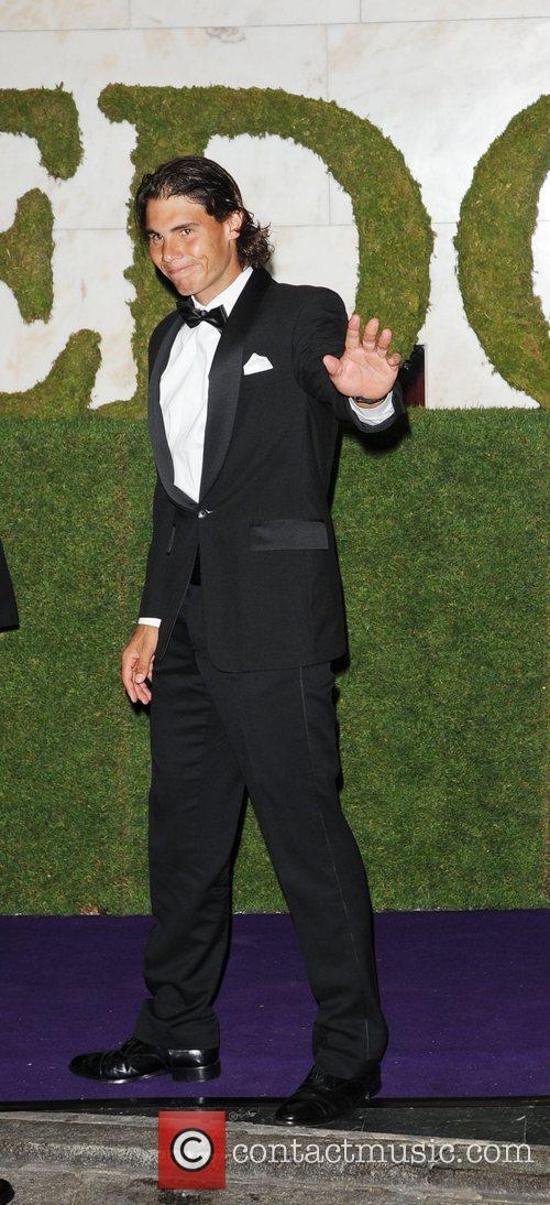 2010 Wimbledon Men's Champion Rafael Nadal attending the...