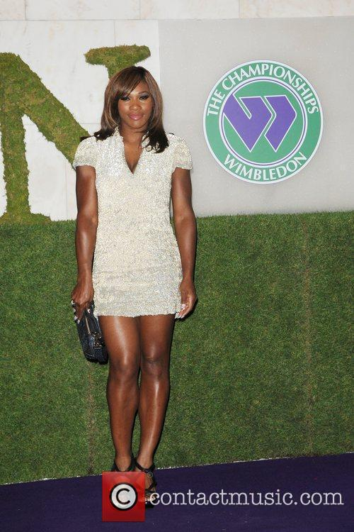 Attending the 2010 Wimbledon Gala Dinner at the...