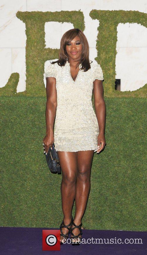 2010 Wimbledon Women's Champion Serena Williams attending the...