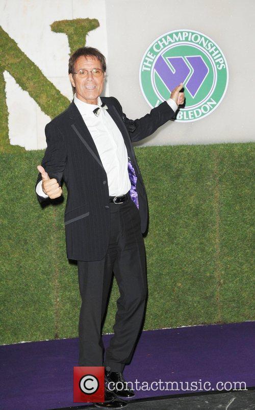 Attending the 2010 Wimbledon Gala Dinner at the...