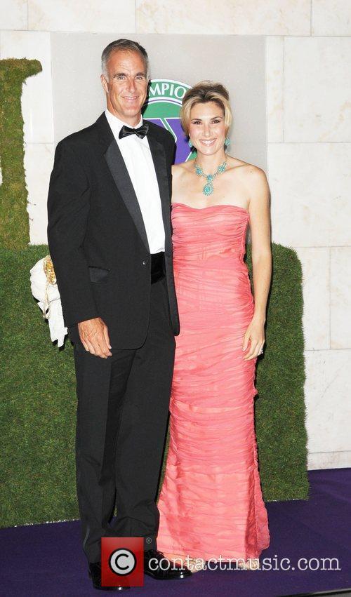 Guests attending the 2010 Wimbledon Gala Dinner at...