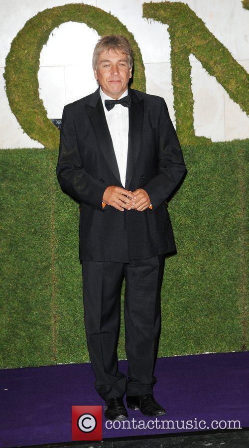 John Inverdale attending the 2010 Wimbledon Gala Dinner...