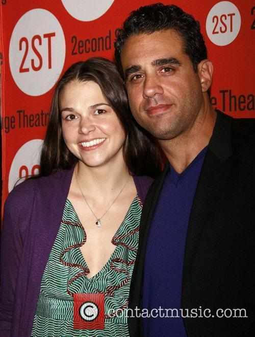 Sutton Foster and Bobby Cannavale  Opening night...