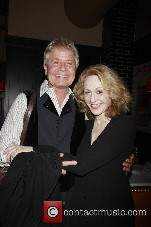 Roy Harris and Jan Maxwell Opening night after...