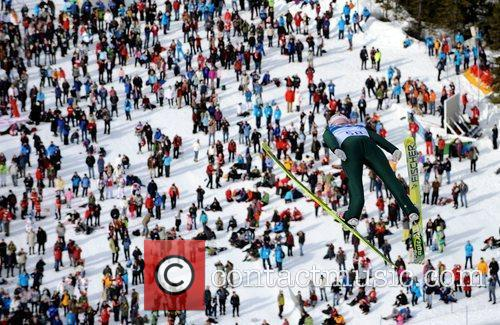 Andreas Kofler of Austria competes in the men's...