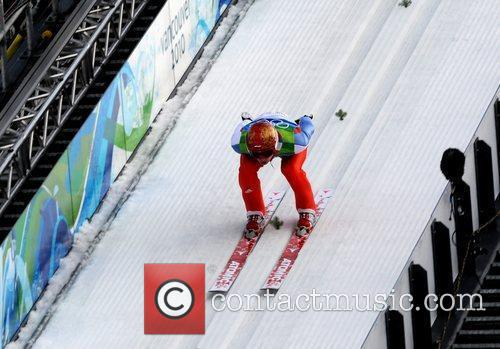 Denis Kornilov of Russia competes in the men's...