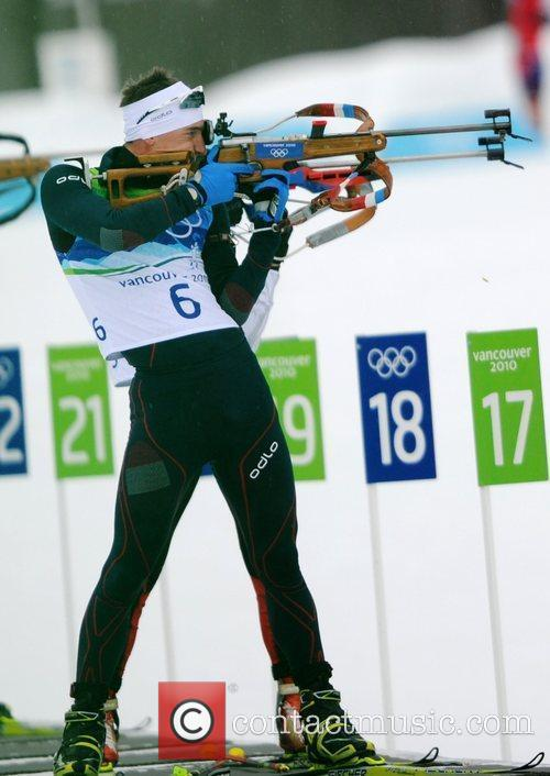 French skier Vincent Jay acts during the men's...