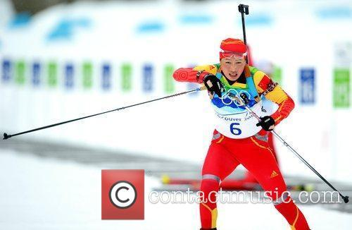 Kong Yingchao of China competes in the women's...