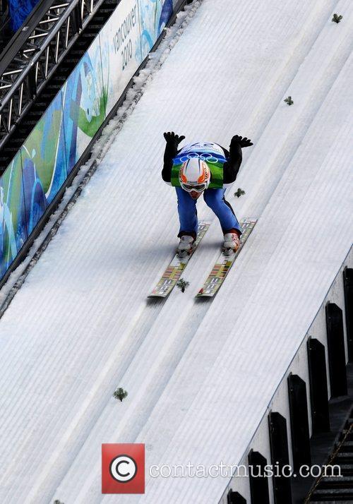 Primoz Pikl of Slovenia competes in the men's...