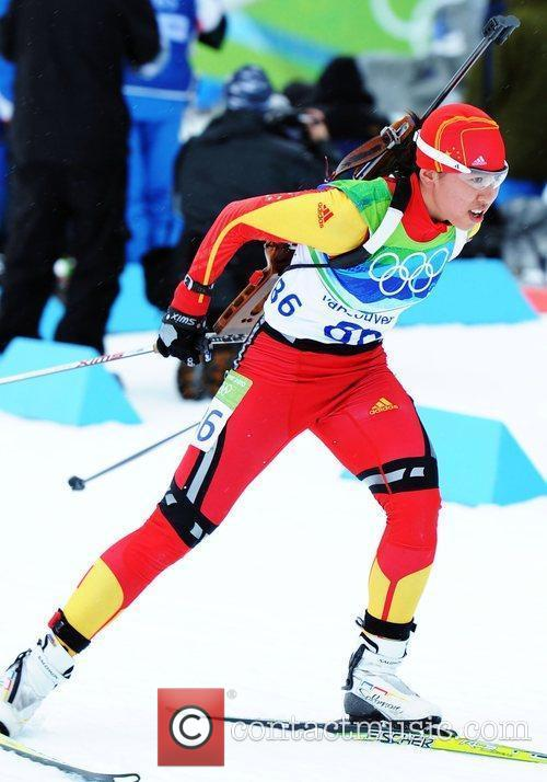 Song Chaoqing of China competes in the women's...