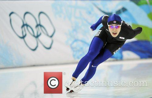 South Korea's Lee Seung-Hoon competes for men's 5000m...