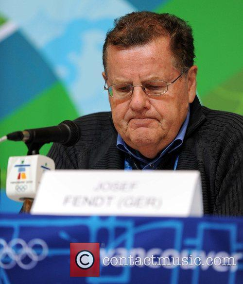 Josef Fendt, International Luge Federation (FIL) President pauses...