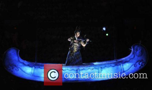 Atmosphere - A fiddler performs The Opening ceremony...