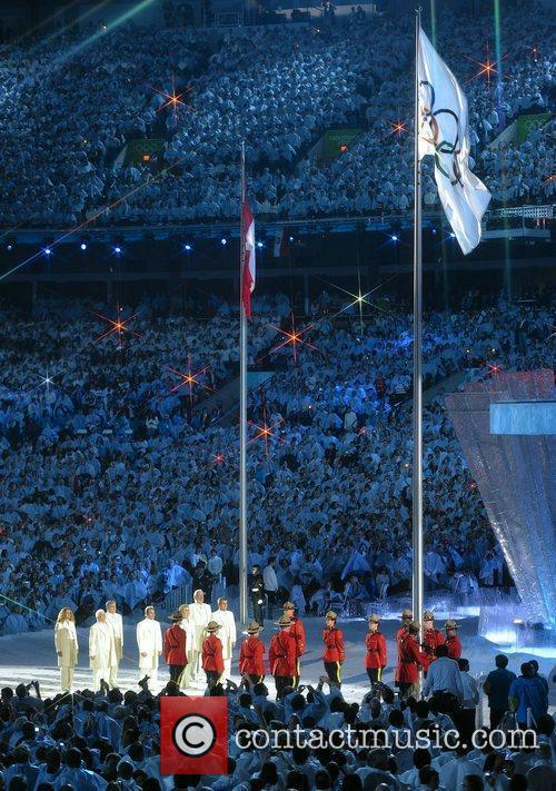 Atmosphere - The Olympic Flag is raised The...