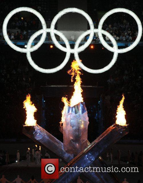 Atmosphere - The Olympic flame is lit The...