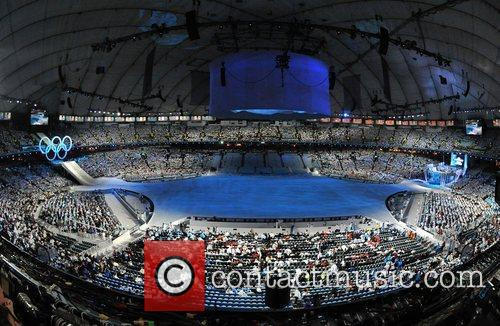 Atmosphere The Opening ceremony of the 2010 Winter...