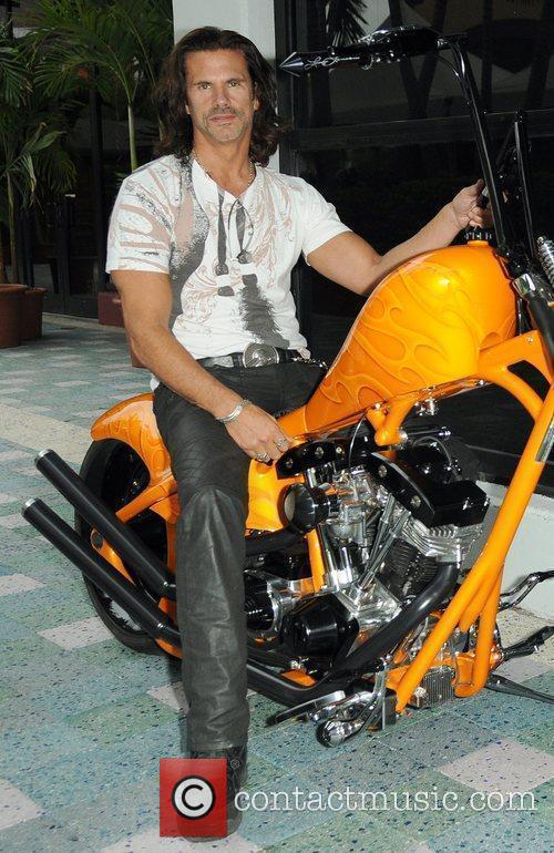 Lorenzo Lamas  Launch party for the 2009...