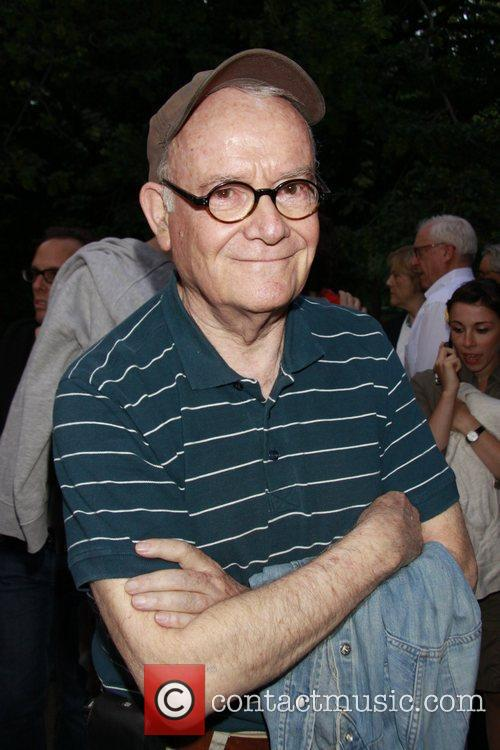 Buck Henry Opening night of The Public Theater...