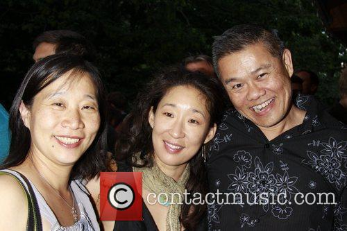 Diana Son, Sandra Oh, and Chay Yew Opening...