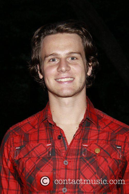 Jonathan Groff from the TV show Glee Opening...