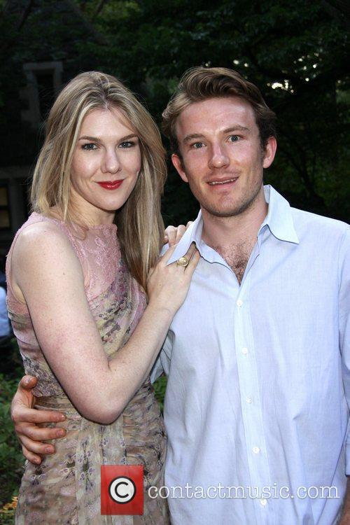 Lily Rabe and her brother Michael Rabe Opening...